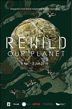 "Explore the forests of Borneo or dive deep into the coastal seas of Southeast Asia with REWILD Our Planet""."