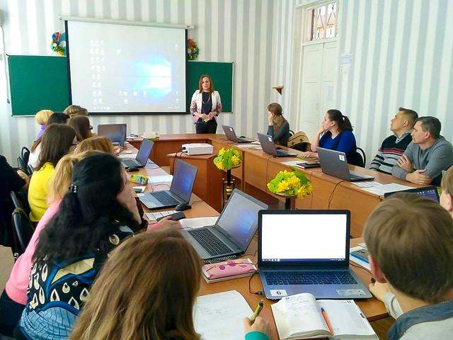 Воркшоп для вчителів інформатики Тернівського району, 04.04.19