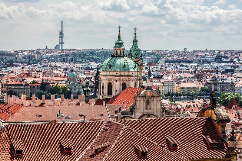 布拉格城堡廣場俯瞰市區 3