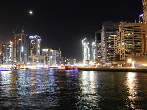Dubai Marina- moon