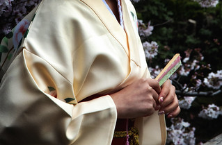 A Kimono, A Fan & Cherry Blossom | by El-Branden Brazil