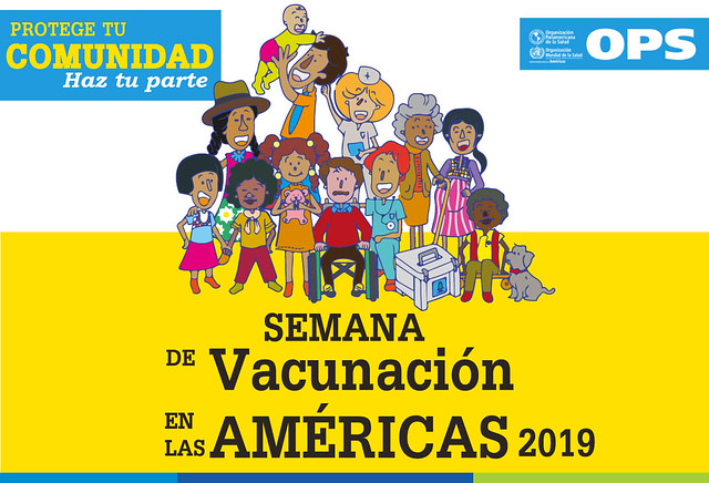 JORNADA DE VACUNACION DE LAS AMERICAS ABRIL 2019