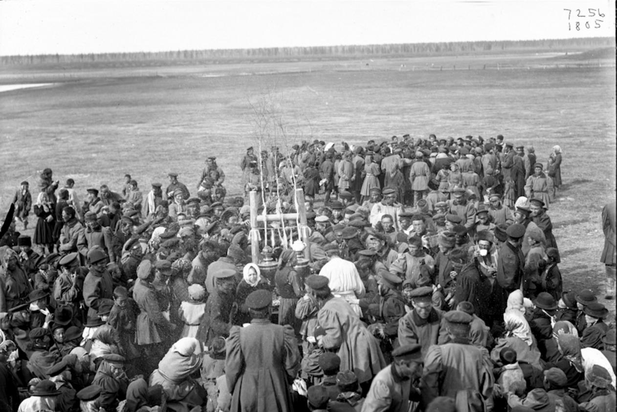 Окрестности Якутска. Праздник Ысыах в Чурапче. 1902  (5)