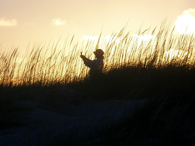 Magic Hour on the Dunes