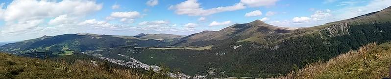 Le Mont-Dore vu du Capucin