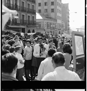 Aplin: Marketplace in Spain, Madrid 1968