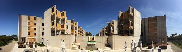 Salk Institute by Louis Kahn Exterior