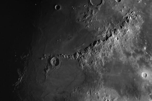 Crater Eratosthenes & Montes Apenninus 13/01/19