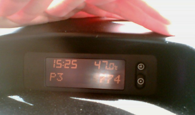 Car thermometer 7/2/2009