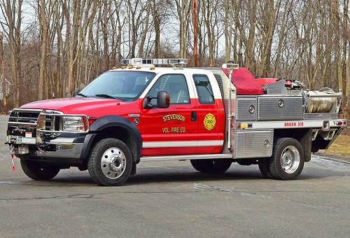 stevenson monroe ct fire dept truck connecticut apparatus department ford brush gowans knight