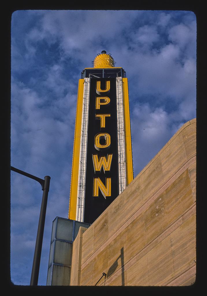 Uptown Theater Tower, Hennepin Avenue, Minneapolis, Minnesota (LOC)