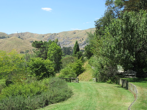 outdoor garden arboretum eastwoodhill tree hill path gate ngatapa gisborne newzealand
