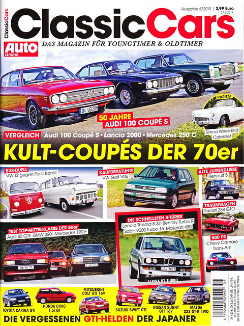 Auto Zeitung - Classic Cars 5/2019