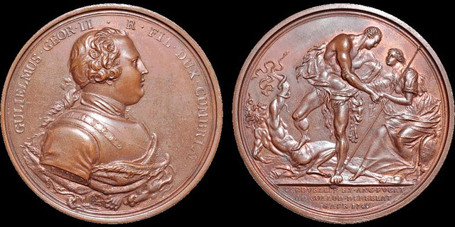 Jacobite Rebellion Battle of Culloden medal2