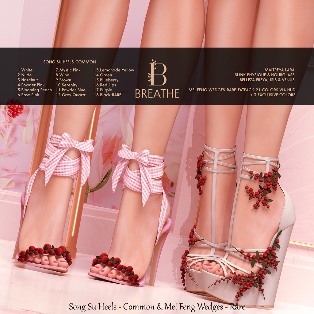 [BREATHE]-Mei Feng & Song Su_Heels