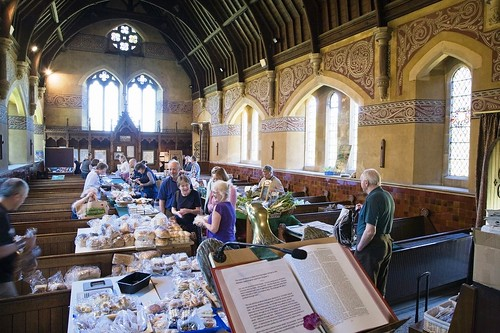 Farmer's market at St Giles, Shipbourne | by The National Churches Trust