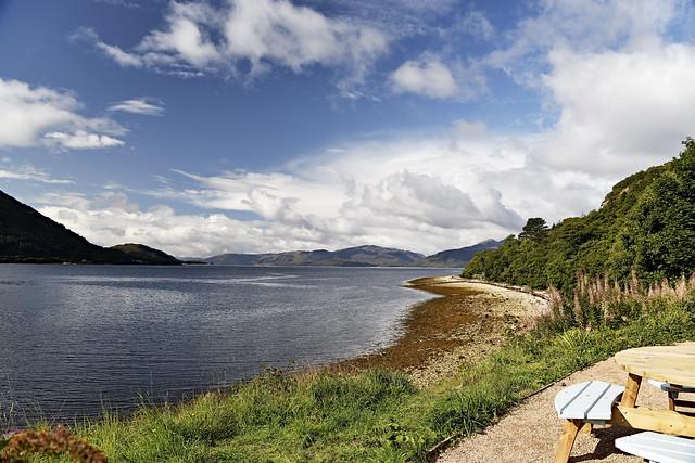 Loch Tulla. Highlands. Scotland