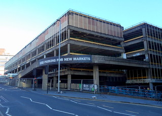 Demolition of Preston Market Car Park continues | by Tony Worrall