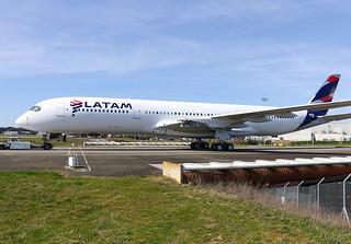 F-WZGS Airbus A350 LATAM   by @Eurospot