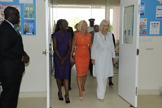 The Duchess of Cornwall visits The Derrick Smith School & Vocational Centre (5)   by barbadosgovernmentinformationservice