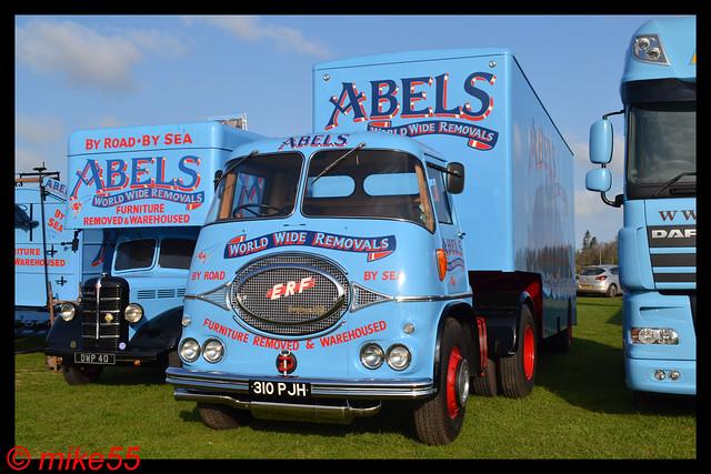 1963 ERF KV 'Abels' reg 310 PJH