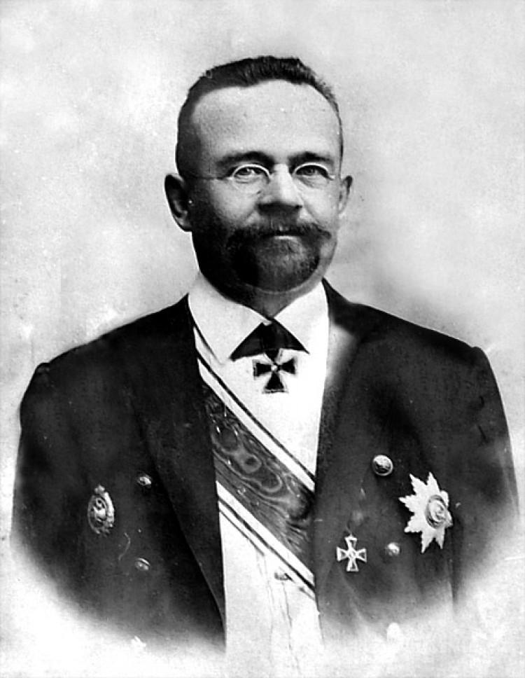 почётный гражданин г. Якутска Иван Иванович Крафт.