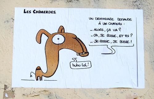 Pasted paper by Les Chimerdes [Lyon, France] | by biphop