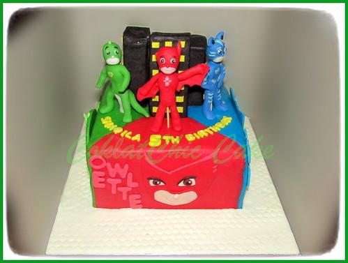 Cake PJ MASK SIMQILA 15 cm   by KevnCealMom