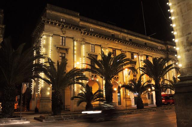 Night in Floriana