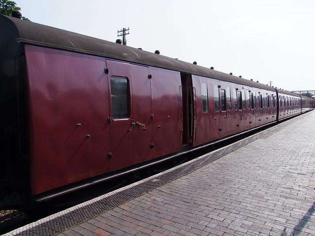 North Norfolk Railway suburban set at Sheringham