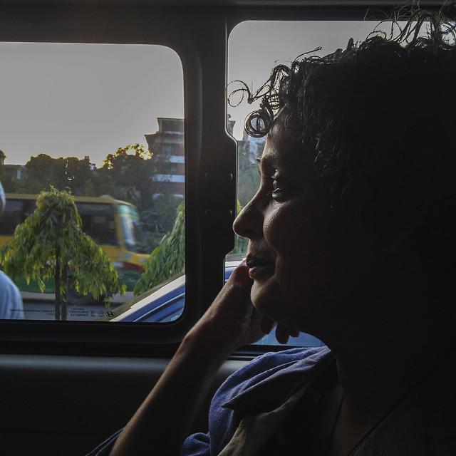 Arrival in Dhaka
