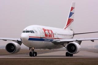 "Czech Airlines A310 ""Praha"" | by KominikM"