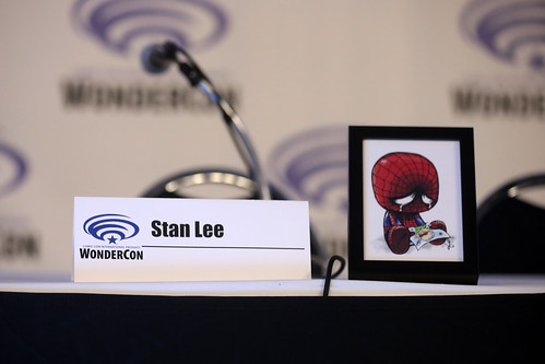Stan Lee memorial name card | by Gage Skidmore