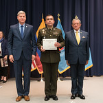 Fri, 03/29/2019 - 14:32 - On Friday, March 29, 2019, the William J. Perry Center for Hemispheric Defense Studies hosted a graduation ceremony for two courses: 'Strategic Implications of Human Rights and Rule of Law' and 'Combating Transnational Threat Networks.' Students from all over the Americas attended the courses from March 18-29, 2019. The graduation ceremony and reception took place in Lincoln Hall at the National Defense University's North Campus at Fort McNair in Washington, DC.