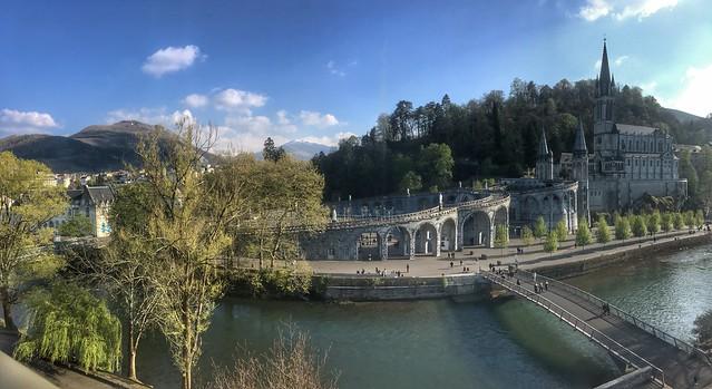Panorama on the basilica