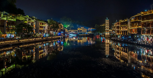 Ancient town of Fenghuang | by Unai Sarasola