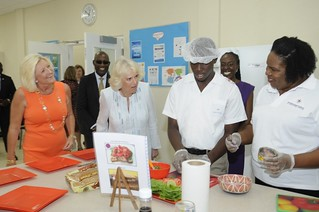 The Duchess of Cornwall visits The Derrick Smith School & Vocational Centre (6) | by barbadosgovernmentinformationservice