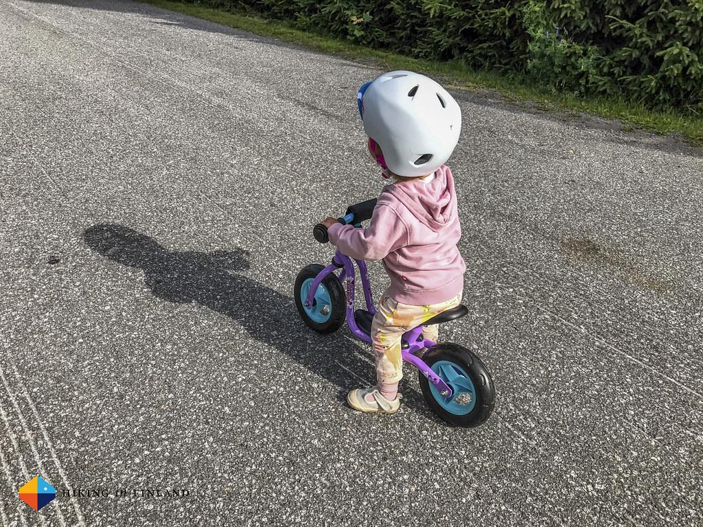 Rocking the Puky Kickbike