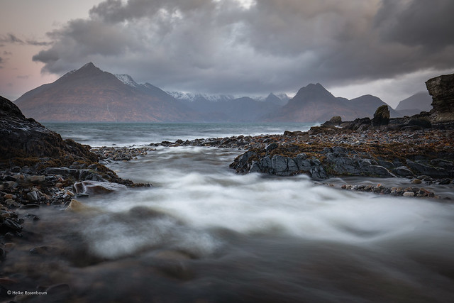 Dawn at Elgol - in explore