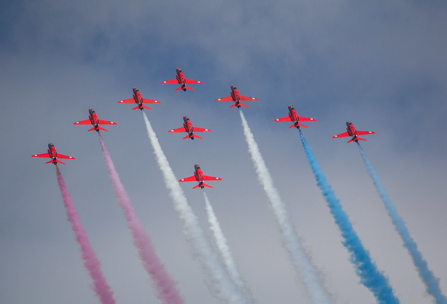 EHVK - The Red Arrows