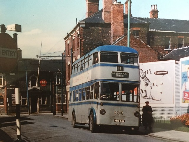 Take the trolleybus from Cleethorpes to Walsall