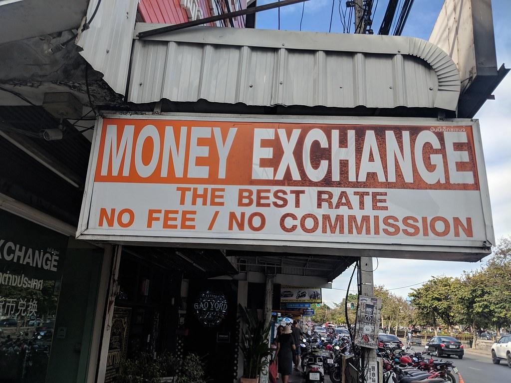 Money Exchange in Thailand