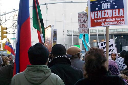 Hands Off Venezuela - NYC Feb 4 2019   by pameladrew212
