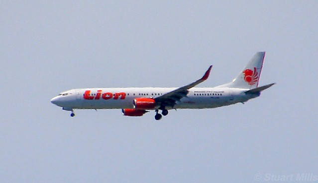 PK-LHZ | Lion Air | JT22 | CGK - DPS | Boeing 737-9GP(ER) | Ngurah Rai International Airport | (DPS/WADD)