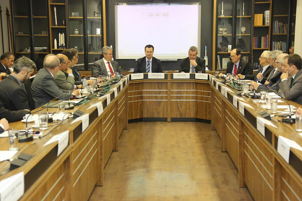 12/12/2018. Brasília-DF. Ministro Gilberto Kassab, participa da abertura da reunião do Conselho Consultivo da Finep. Foto: Bruno Peres/MCTIC.