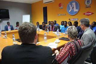 Visiting YALI Accra RLC