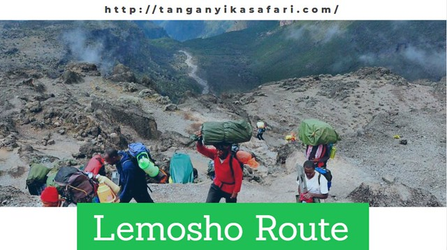 Choose Your Best Route The Lemosho Route For Your Easier Climbing.