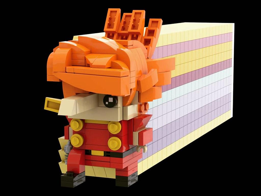 再造人002 Brickheadz 出賣年齡系列 Cyborg002 Jetlink ジェット