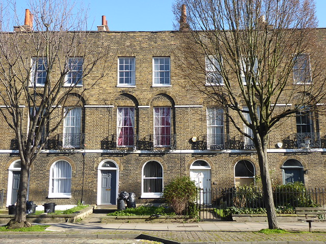 Georgian Terrace, Islington, London