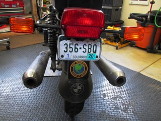 Rear Tail Light & Turn Signal Assembly | by Brook Reams